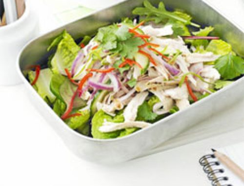 Asian chicken salad – simple, easy & delicious